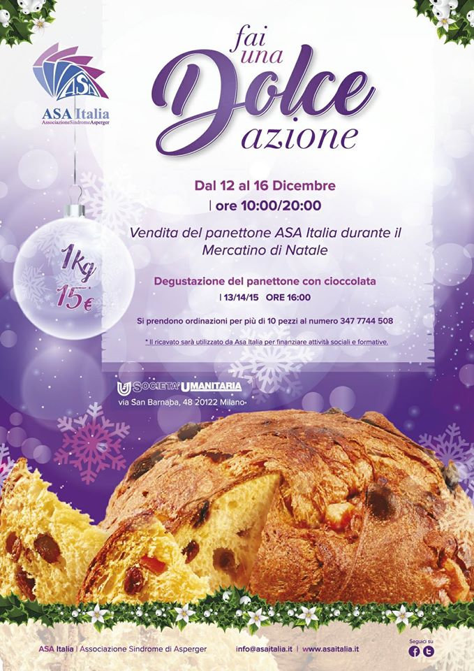 Associazione Sindrome Asperger Panettone Solidale