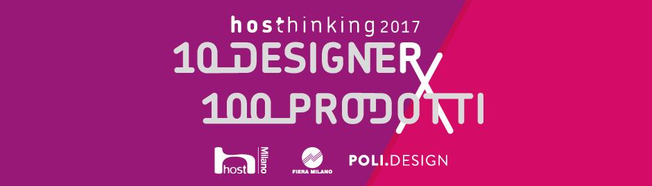 HOSThinking - 10 Designer per 100 Prodotti