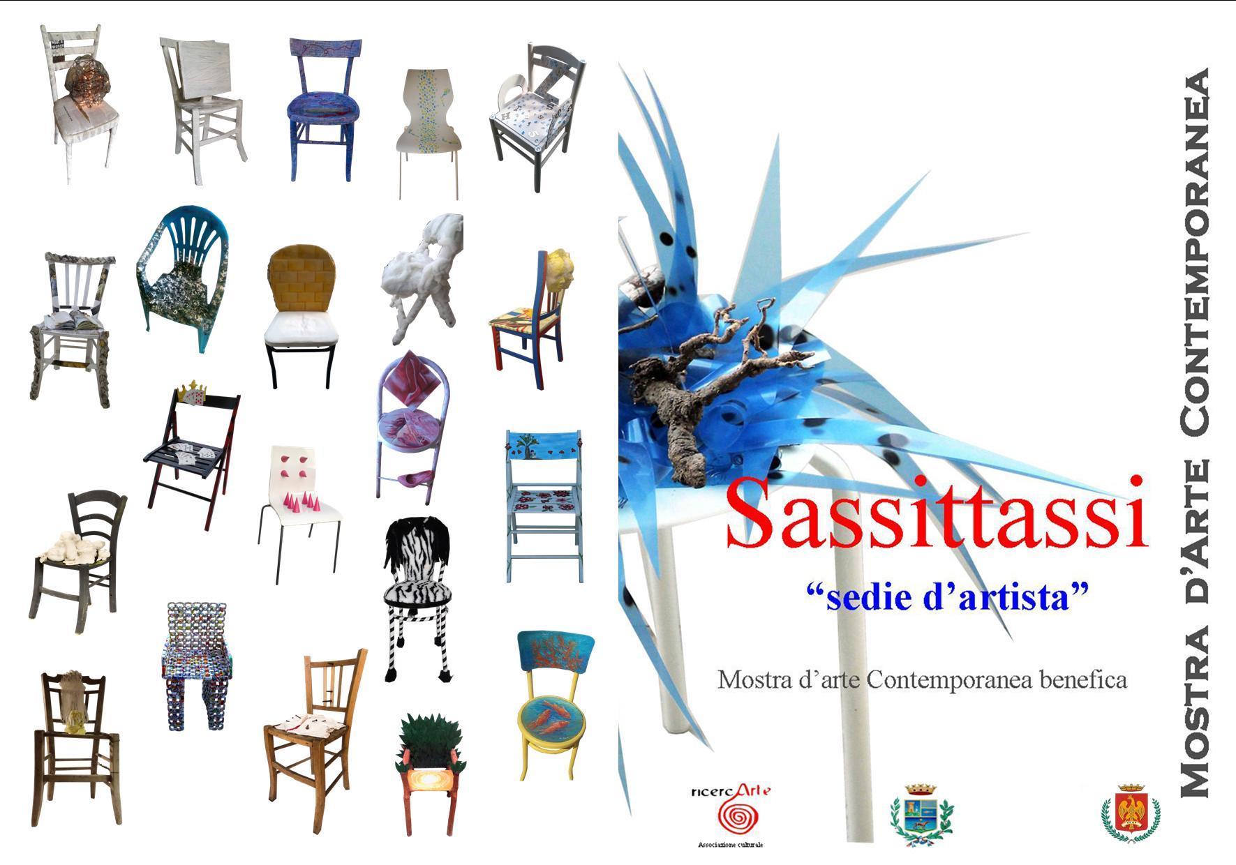 COMUNICATO STAMPA SASSITTASSI : SEDIE D'ARTISTA. Mostra d'Arte Contemporanea Benefica 8 / 21 Aprile 2017 – Castello La Grua Talamanca, Carini
