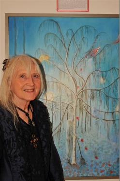"""Milano Art Gallery: Margaretha Gubernale in mostra a Venezia per """"Pro Biennale"""" con la partecipazione di Vittorio Sgarbi al vernissage"""