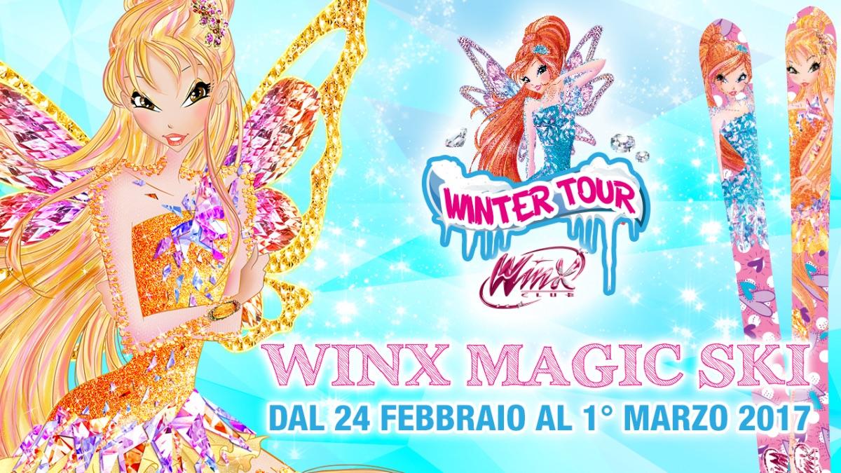 Winx Magic Ski, un Carnevale di magia sulla neve in Friuli Venezia Giulia!