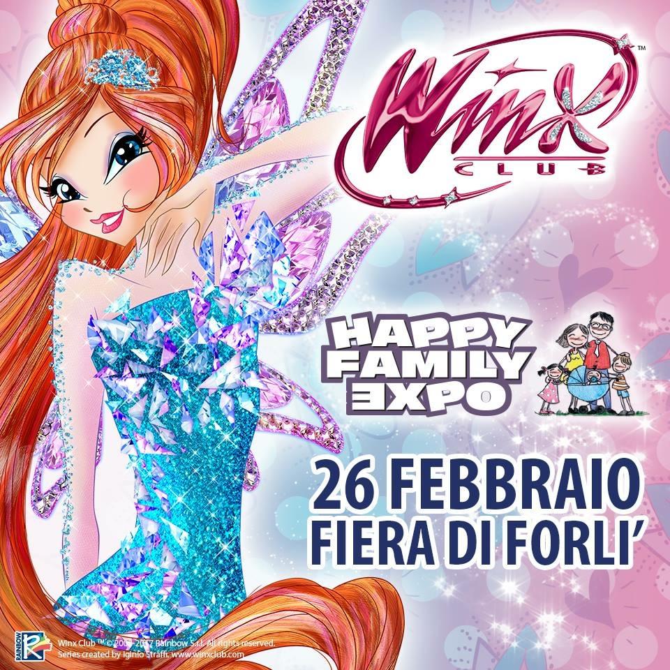 Le Winx e Regal Academy a Forlì Happy Family Expo per un weekend di magia