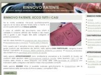 Rinnovo Patente - un nuovo sito a supporto degli automobilisti