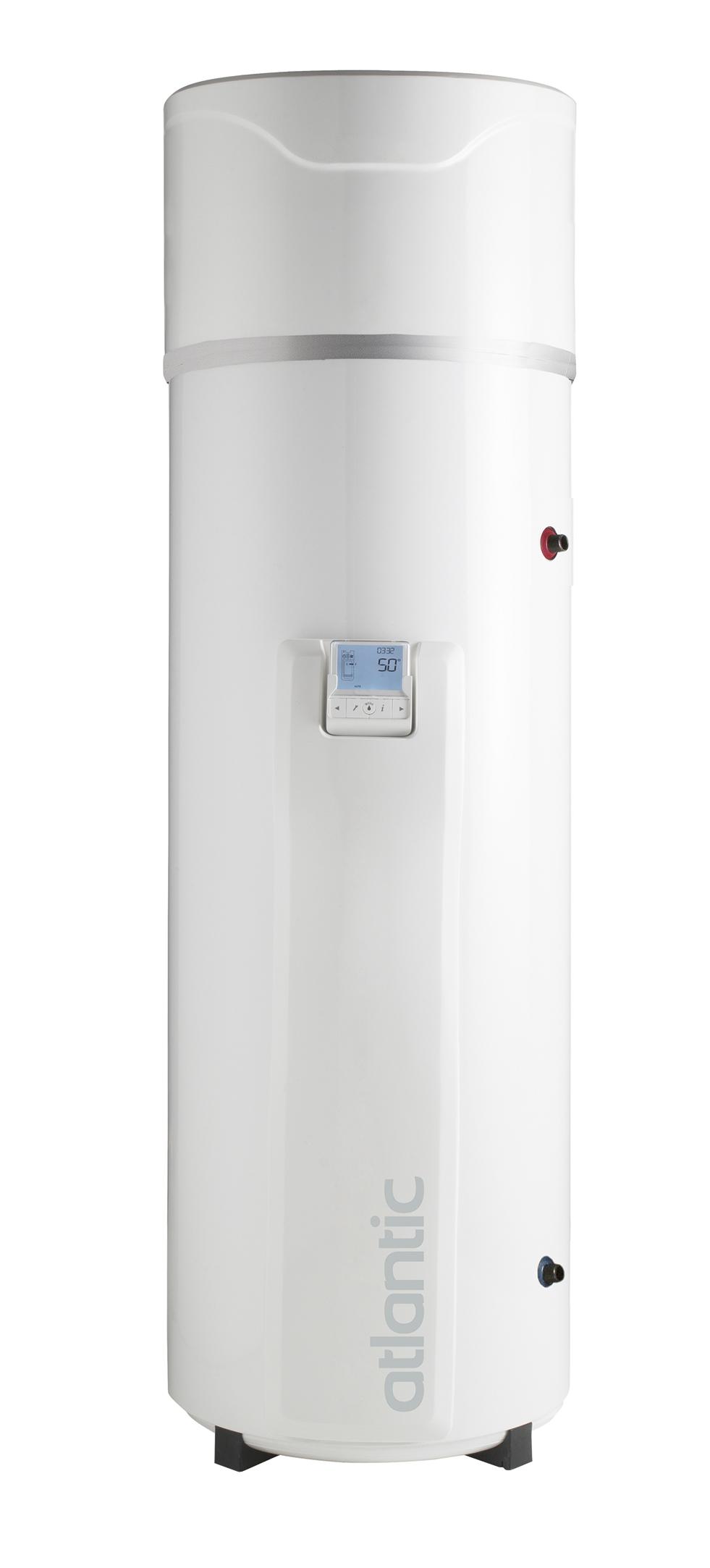 Linea Explorer di Atlantic, i bollitori per acqua calda sanitaria equipaggiati con pompa di calore.