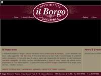 La buona cucina romagnola online, sul sito del Ristorante Pizzeria Il Borgo.