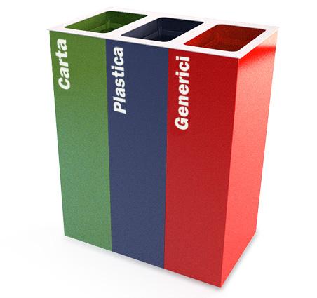 ECO BIN, nuovo cestino per la raccolta differenziata
