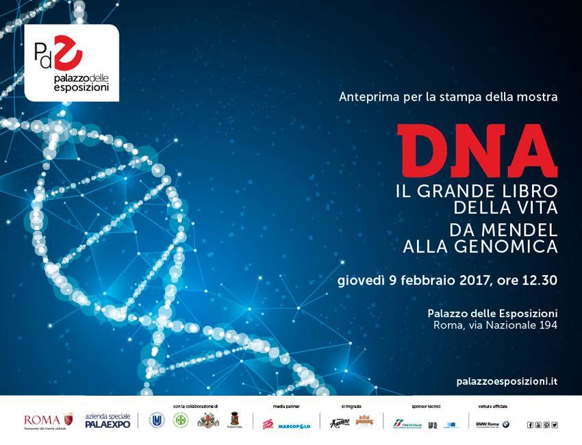 Dna il grande libro della vita da mendel alla genomica for Palazzo delle esposizioni via nazionale roma
