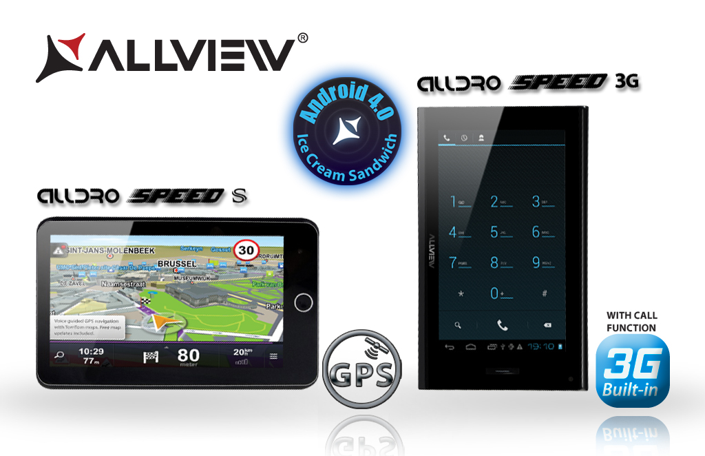 Allview estende la gamma dei tablet AllDro Speed