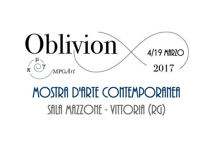 "A Vittoria la Mostra d'Arte Contemporanea ""Oblivion"""