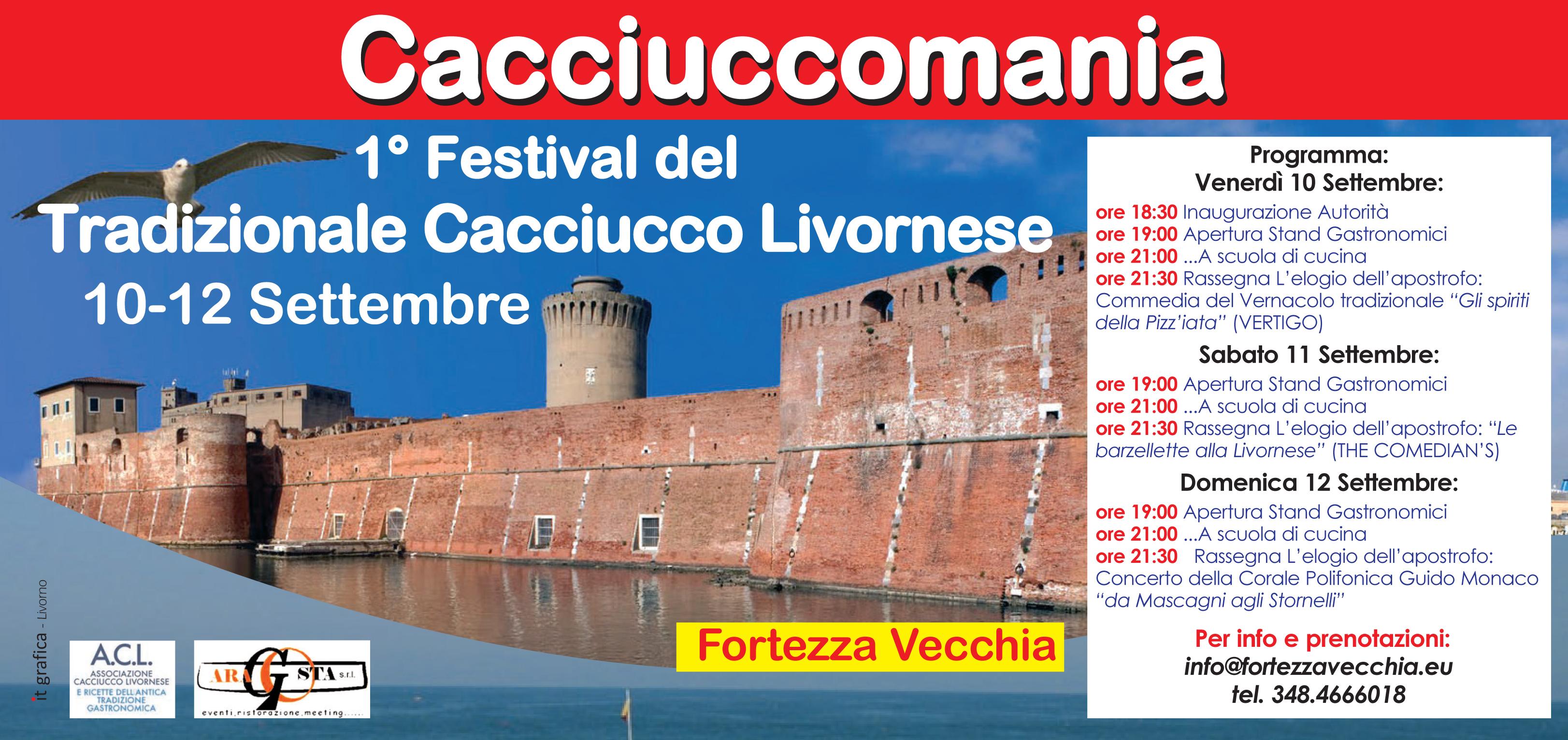 Scuola di Cucina in CACCIUCCOMANIA 1°festival del vero cacciucco Livornese