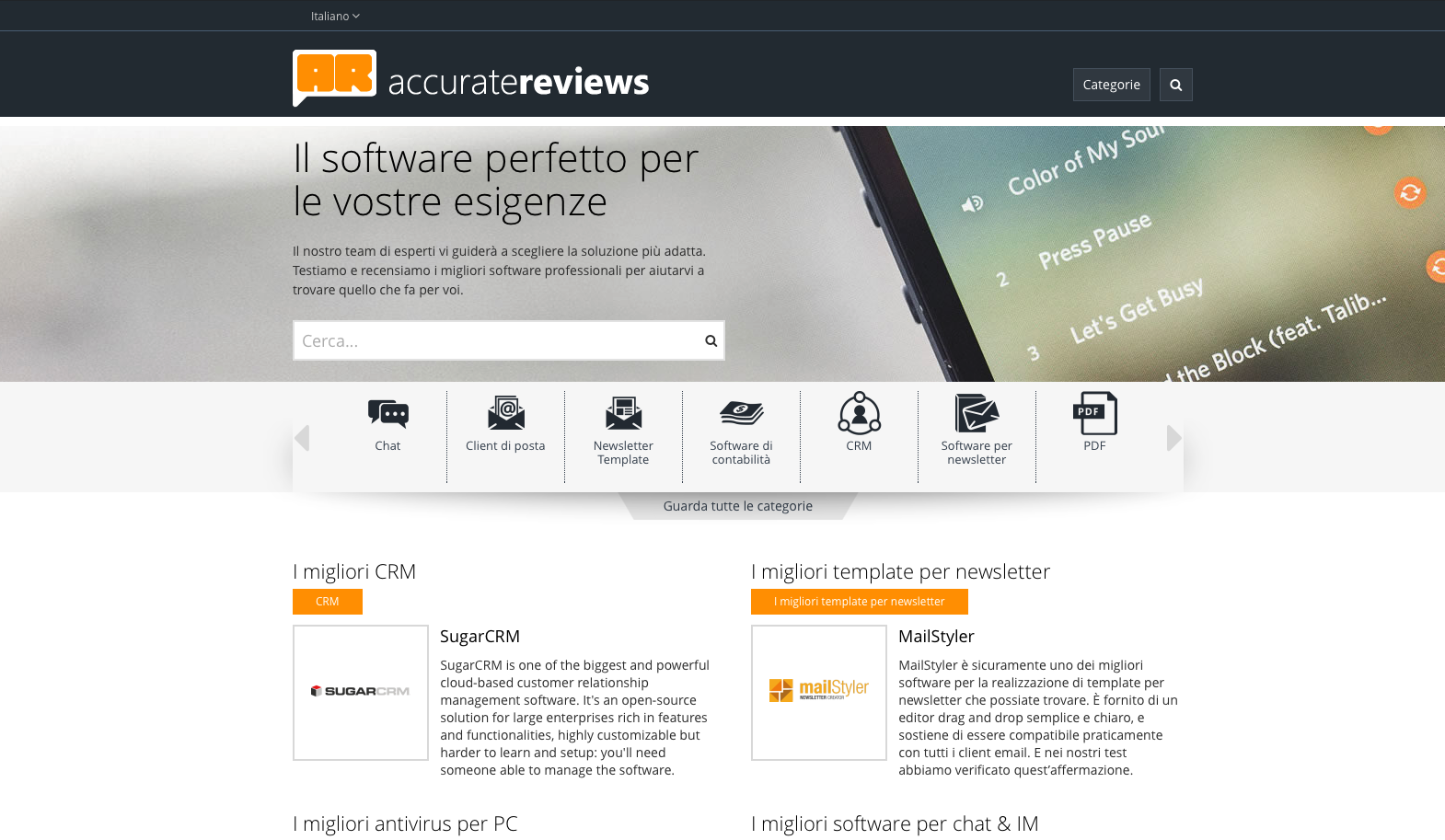 Accurate reviews recensioni di software professionali for Recensioni di software planimetrie