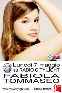 Fabiola Tommaseo, il 7 maggio 2012 su Radiocitylight