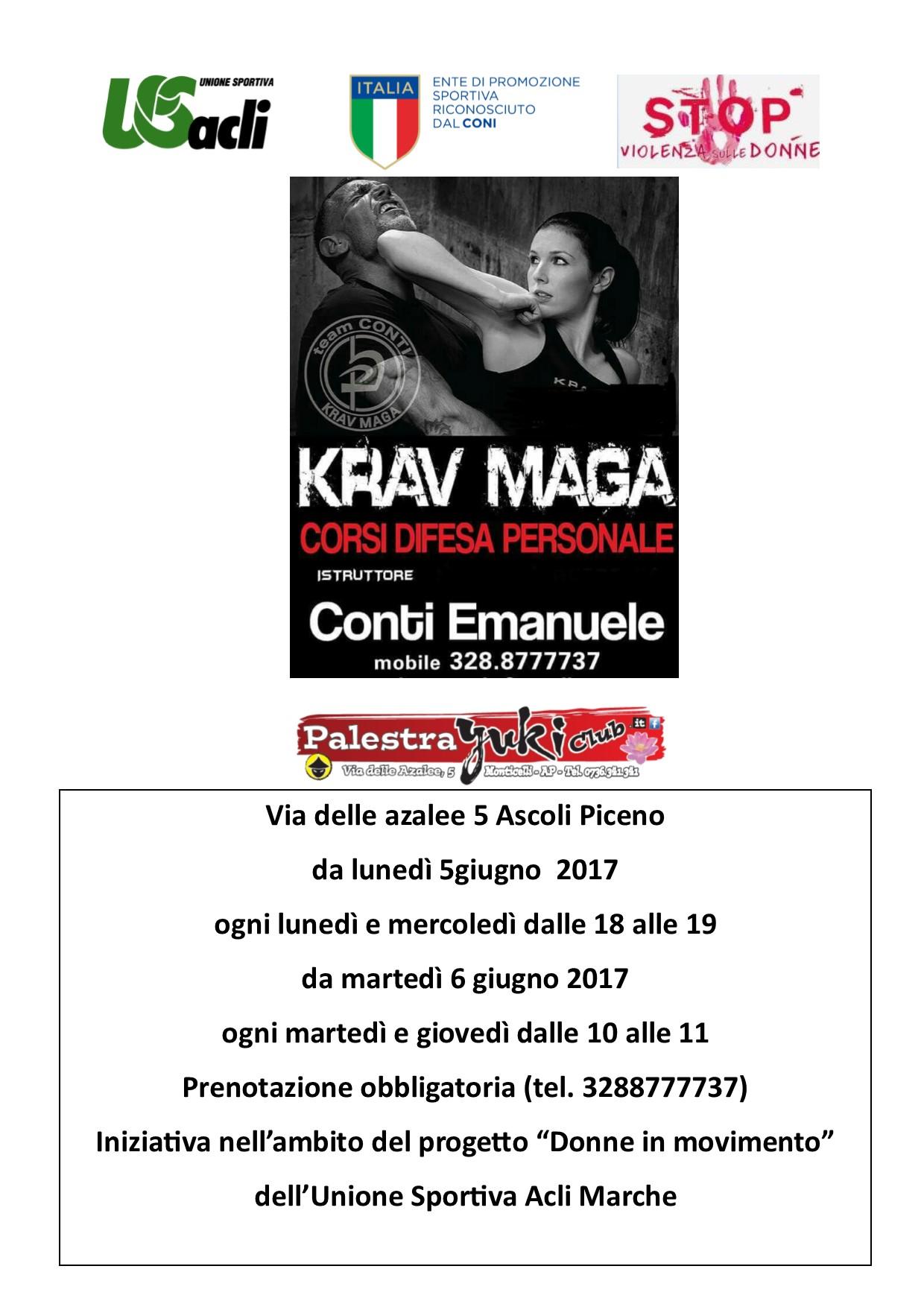 Ad Ascoli Piceno un corso di difesa personale per donne