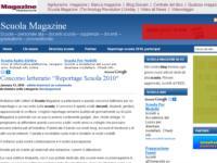 Parte il Concorso letterario Reportage Scuola 2010