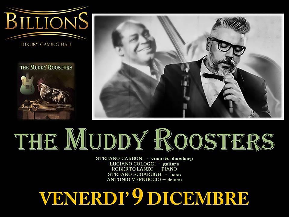 Muddy Rosters in concerto al Billions di Roma: un sincero omaggio a Willie Dixon