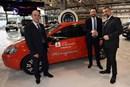Una nuova Fiat punto GPL per gli Amministratori di Grugliasco consegnata oggi dal Mirafiori Motor Village