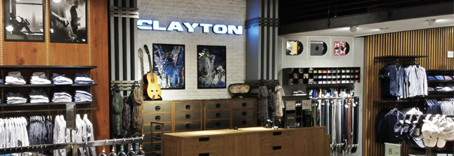 CLAYTON : NUOVO FLAGSHIP STORE IN CORSO BUENOS AIRES A MILANO