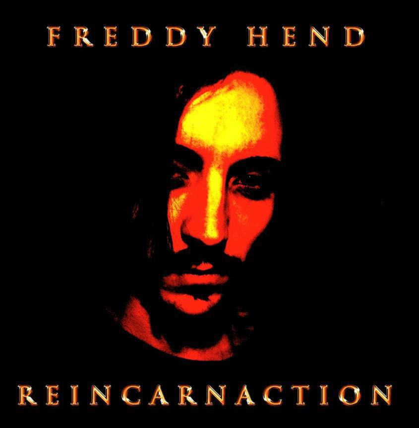Il rocker sardo Freddy Hend pubblica il primo album Reincarnaction