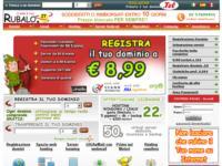 Arriva www.rubalo.it : spazio web hosting e registrazione domini internet
