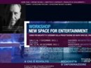 WORKSHOP IN NEW ENTERTAINMENT DESIGN PER PROGETTISTI, DESIGNER E ARCHITETTI CON SIMONE MICHELI