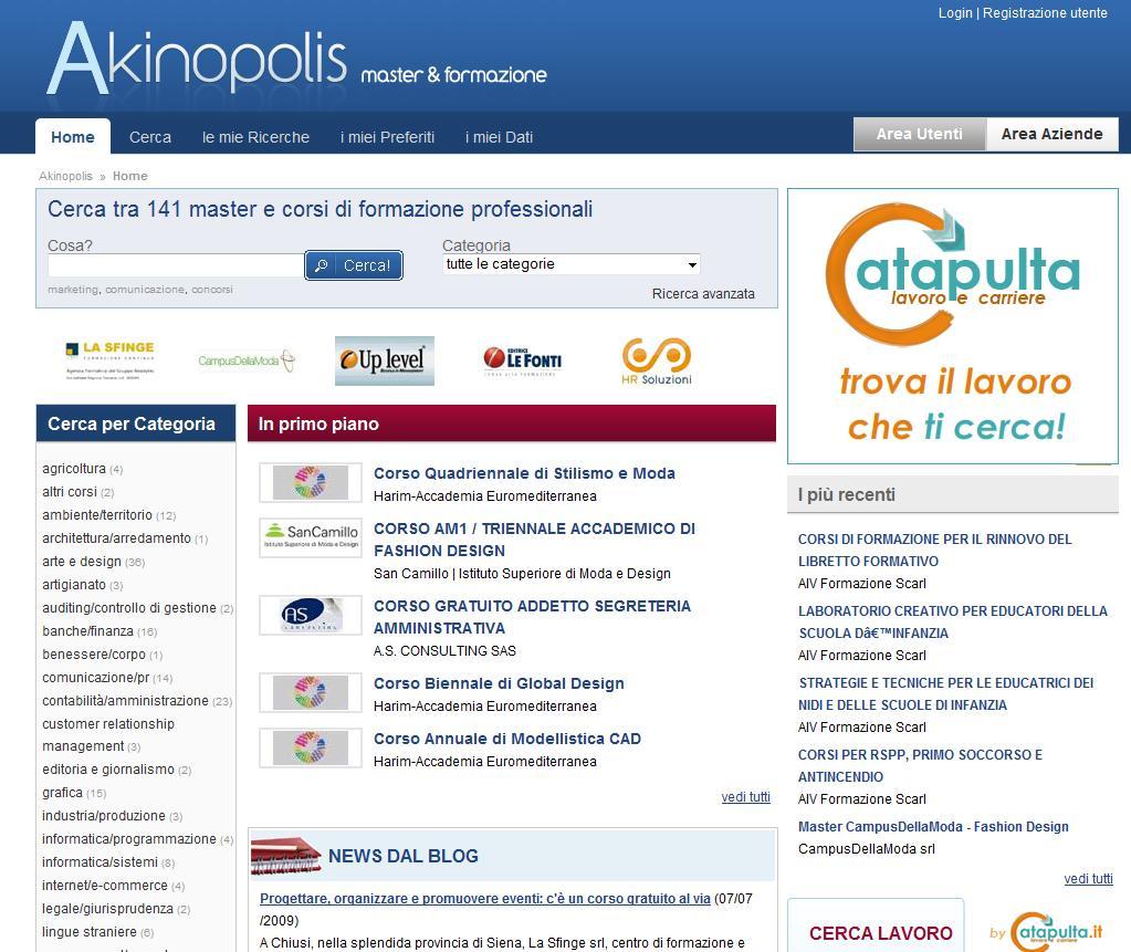 ADS Lavoro lancia Akinopolis.it, il nuovo portale della formazione