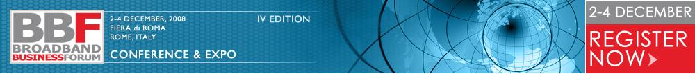 Intarget.net sarà presente al Broadband Business Forum Roma