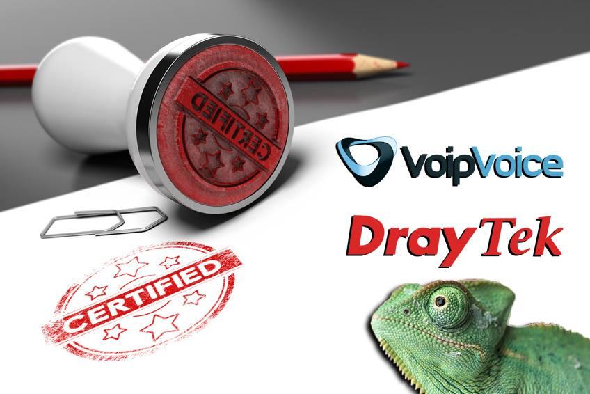 I Router Firewall e i PBX Draytek sono certificati VoipVoice