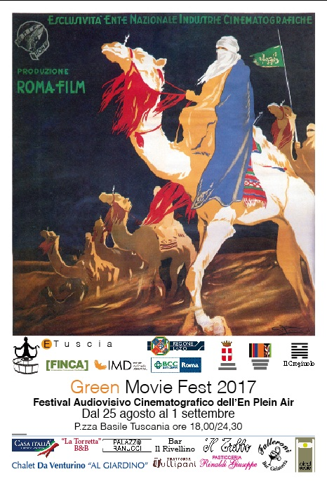 Cerimonia di premiazione e festa di chiusura per l'ETuscia Green Movie Fest