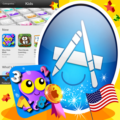 Ebooks&Kids: Wee Kids ABC e Wee Kids Math entrano nella hit parade dell'AppStore USA