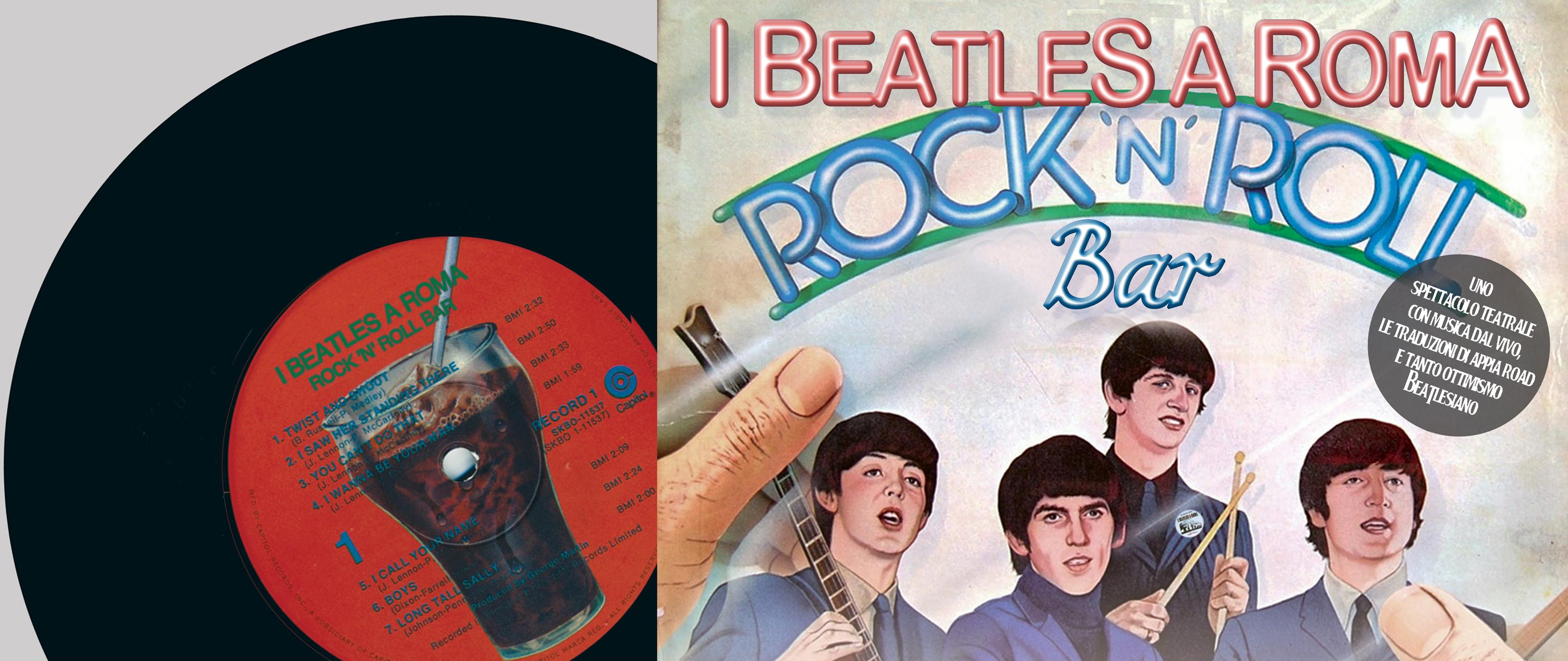 """I Beatles a Roma presentano il nuovo spettacolo teatrale """"Rock'n'Roll Bar"""""""