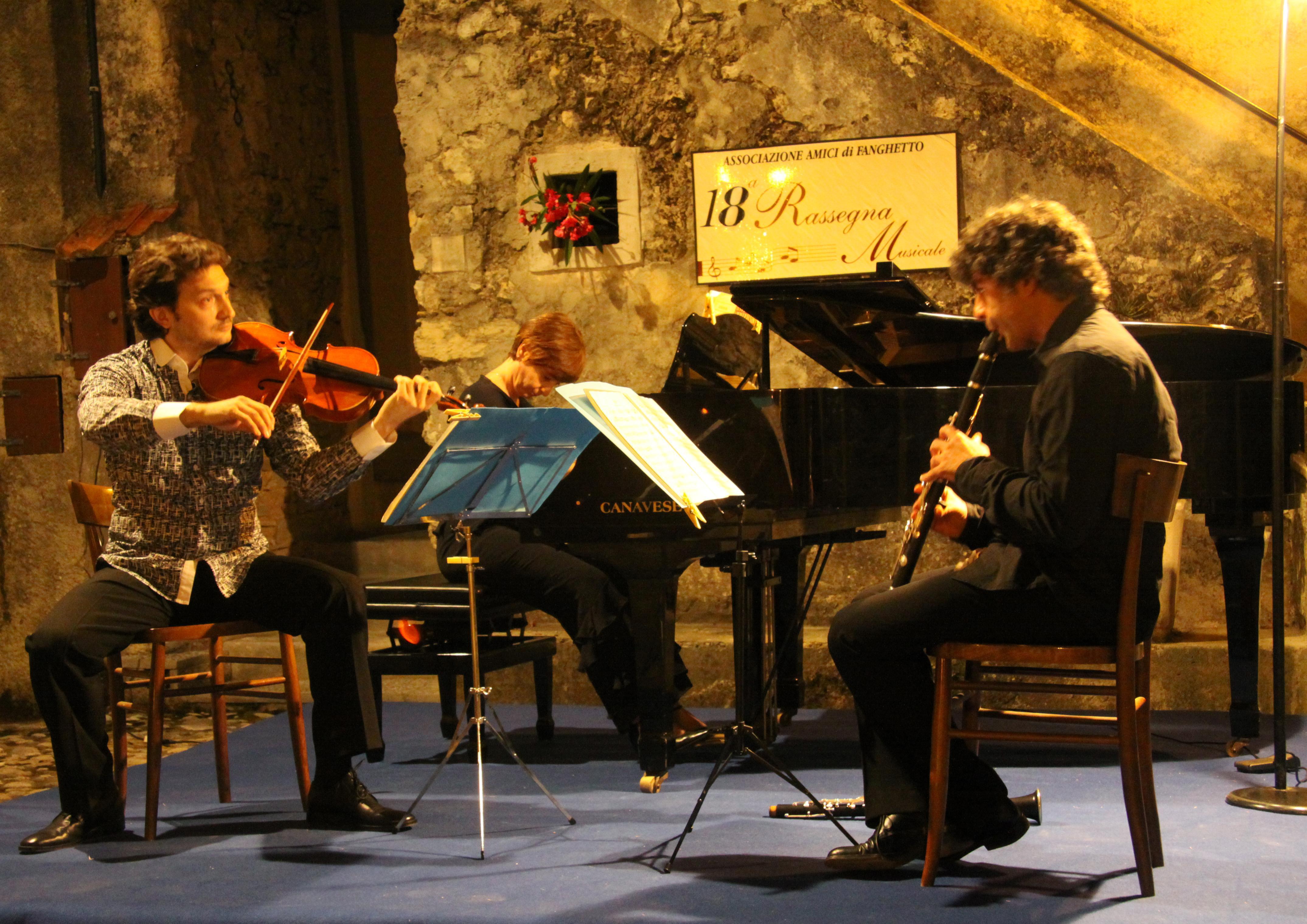 Massimo Gatti, Ilaria Costantino, Stefano Pramauro: Trio Friedrich in concerto a Gargnano 15 Luglio 2011
