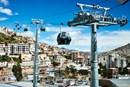 Sulla funivia urbana di La Paz 180.000 passeggeri in un solo giorno