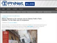 http://phinetblog.wordpress.com/2012/07/06/alfonso-signorini-su-chi-nessuna-crisi-tra-sabrina-ferilli-e-flavio-cattaneo-le-foto-della-cena-di-compleanno/
