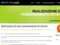 Creazione siti web Verona, è online il nuovo sito web di dmstudioweb