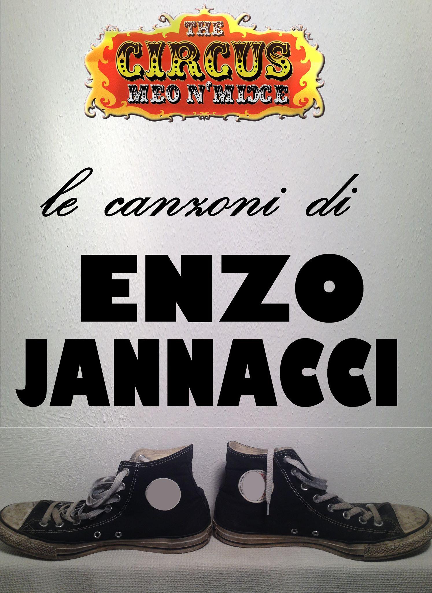 Venerdi 7 ottobre 2016 MEO MIXE CIRCUS Le canzoni di Enzo Jannacci con Meo Cominardi e Marco Mixie @ Enotema