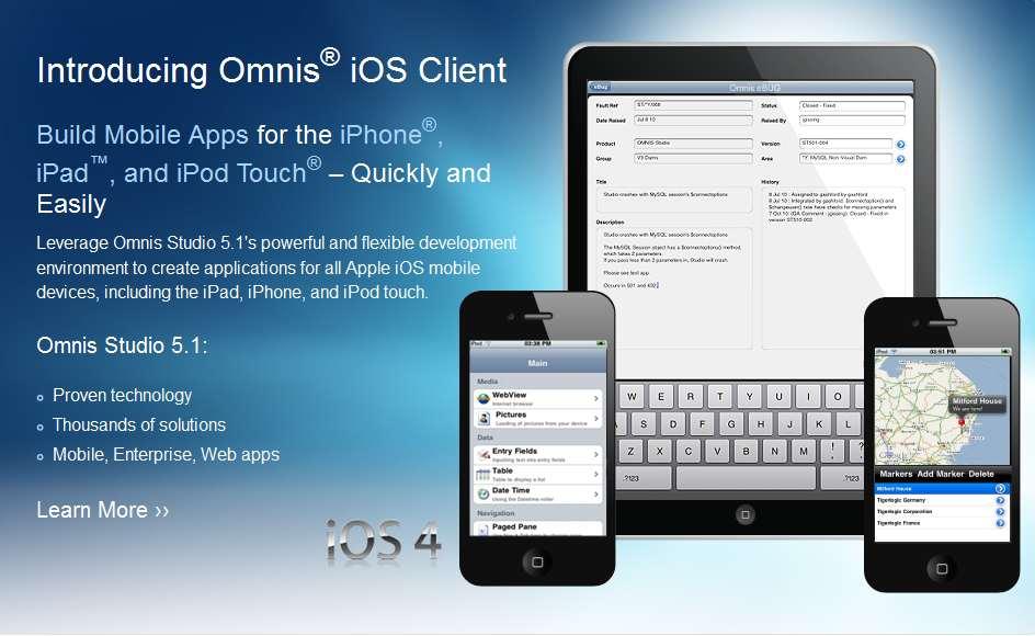 Sviluppo di Applicazioni Mobili per iPhone, iPad e iPod Touch di Apple, Comunicato Stampa