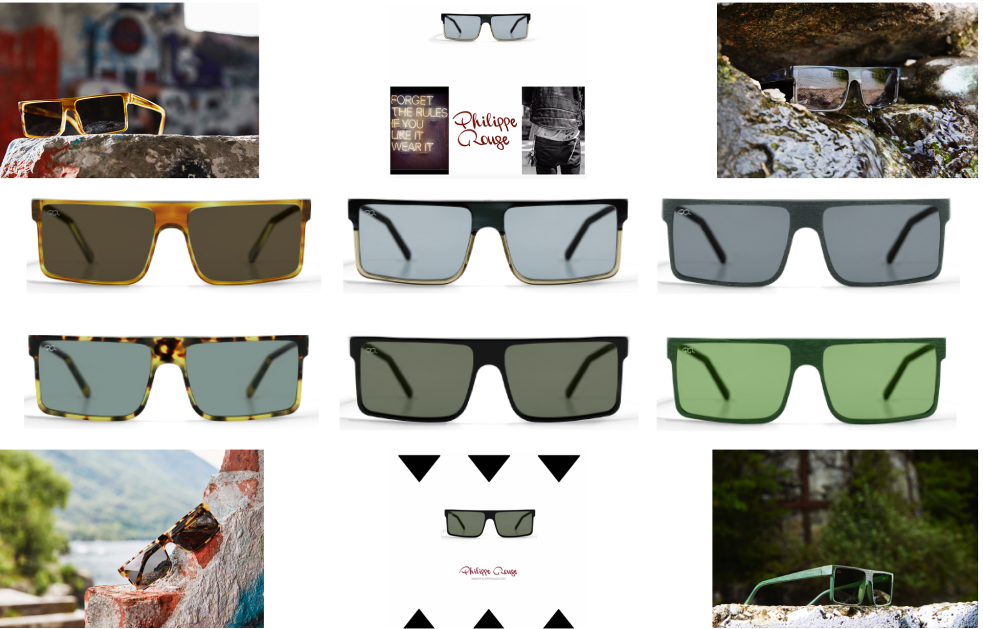Renée by Philippe Rouge: one color, bicolor.. forget the rules and see the world through our lens
