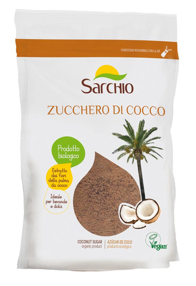 Sarchio ancora più dolce con lo Zucchero di Cocco bio