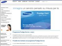 Samsung Prestige Service: leadership tecnologica ed eccellenza.