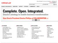 Oracle a Forum PA 2008: tecnologia d'avanguardia per modernizzare la PA