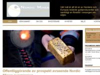 Publication of changes in the total number of shares and votes in Nordic Mines