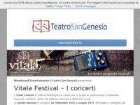 http://www.teatrosangenesio.it/concerti.html