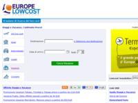 Europelowcost presenta il MetaMotore di Ricerca per Viaggi e Vacanze