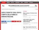 CARTA D'IDENTITA' DEGLI EDIFICI – COMPITO DELLA PUBBLICA AMMINISTRAZIONE