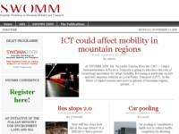 SWOMM 2009 - Nuove prospettive di mobilità urbana nelle città turistiche