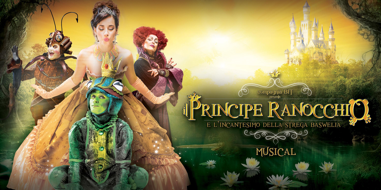"""Il musical """"IL PRINCIPE RANOCCHIO"""" a Taranto e a Lecce mercoledì 7 e giovedì 8 dicembre"""