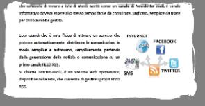 Comunicazione integrata sul Portale e sui Social e Media ...