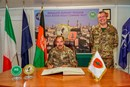 Il Comandante del Joint Force Command Brunssum in visita in Afghanistan