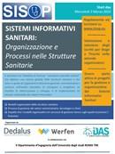 Seminario SISOP - Sistemi Informativi Sanitari: Organizzazione e Processi nelle Strutture Sanitarie