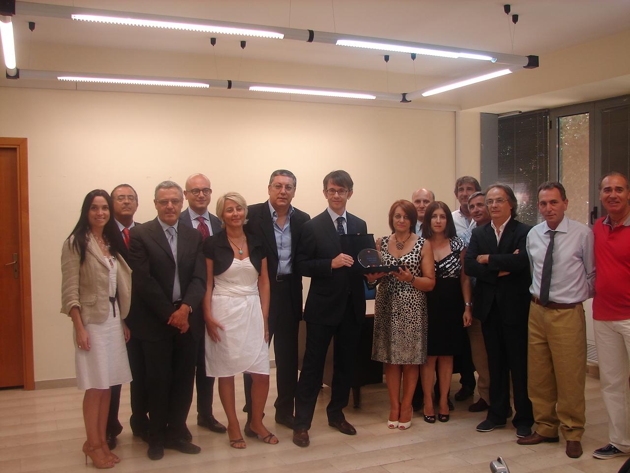 E' a Rossano il miglior Punto Enel d'Italia che si aggiudica il best sellers award del mese di giugno 2011